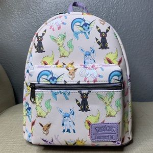 NWT Eevee Loungefly Mini Backpack
